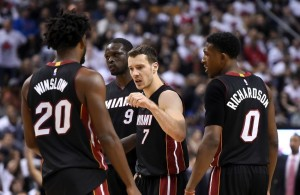 Justise Winslow, Goran Dragic, Josh Richardson