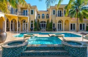 Tyler Johnson's Pinecrest Mansion Pool