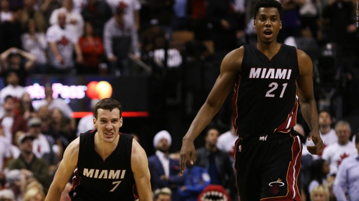Goran Dragic and Hassan Whiteside