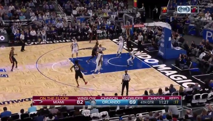 Tyler Johnson Dunk Orlando Magic