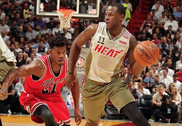 Dion Waiters and Jimmy Butler Miami Heat