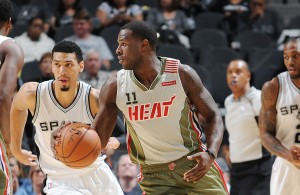 Dion Waiters Miami Heat Spurs