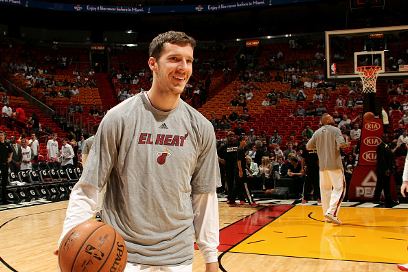 Goran Dragic Warmups Miami Heat
