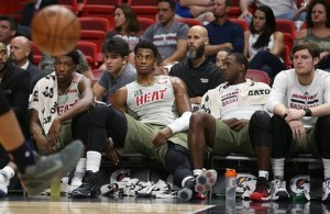 Josh Richardsno, Hassan Whiteside, Dion Waiters, Luke Babbitt