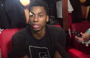 Hassan Whiteside Interview Miami Heat