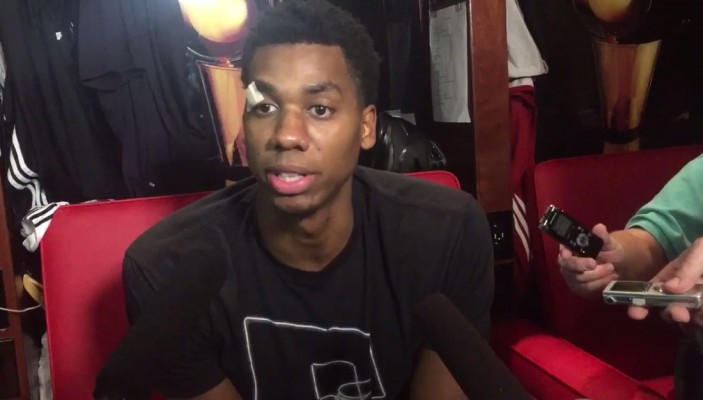 Hassan Whiteside Interview Miami Heat