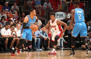 Russell Westbrook, Josh Richardson