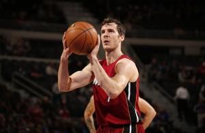 Goran Dragic Shooting Free Throw Miami Heat