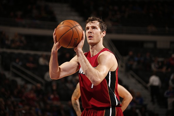 Goran Dragic Shooting Free Throw Miami Heat