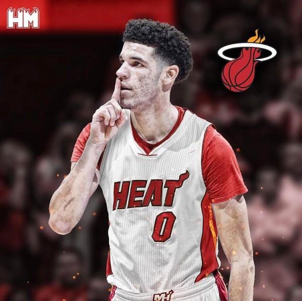 Lonzo Ball Miami Heat