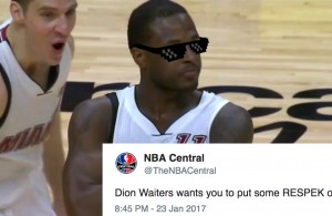 Dion Waiters Miami Heat Golden State Warriors