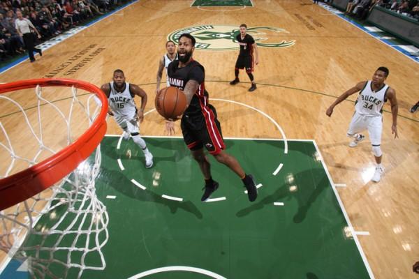 James Johnson Miami Heat