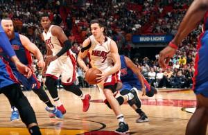 Goran Dragic vs. Detroit Pistons