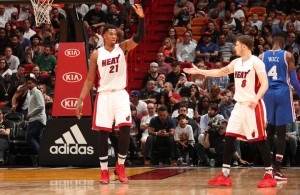 Hassan Whiteside, Tyler Johnson