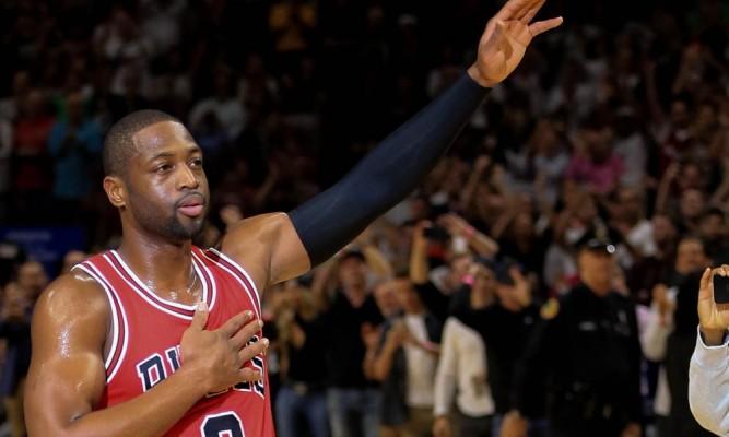 Dwyane Wade Chicago Bulls Miami Heat