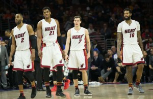Wayne Ellington, Hassan Whiteside, Goran Dragic, James Johnson