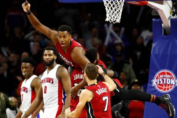 Hassan Whiteside Game Winner
