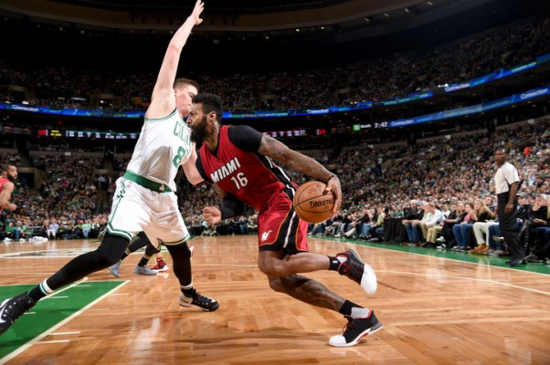 James Johnson vs. Boston Celtics