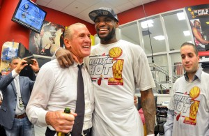 Pat Riley LeBron James
