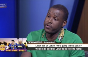 Dion Waiters Gives His Thoughts on Lonzo Ball Joining Miami Heat