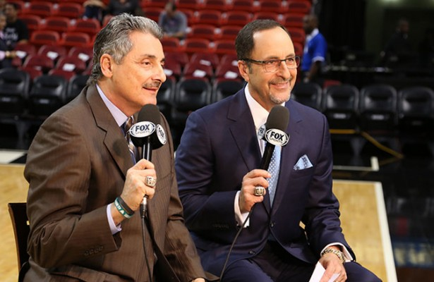 Eric Reid and Tony Fiorentino