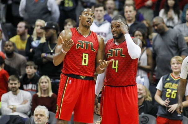 Dwight Howard and Paul Millsap Atlanta Hawks