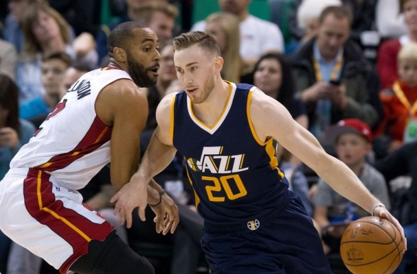 Jazz just as anxious Gordon Hayward will sign with Heat as Celtics