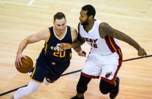 Gordon Hayward and James Johnson