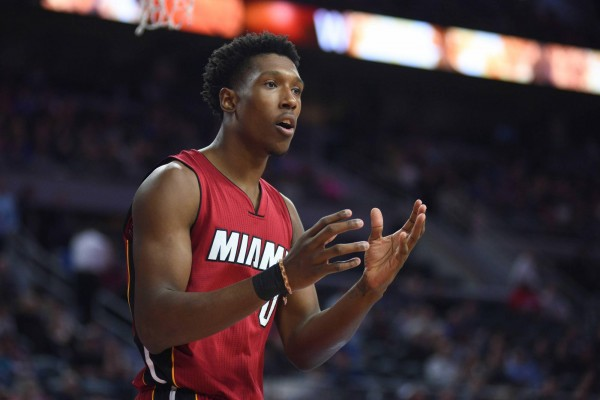 online store 11942 33d9c Josh Richardson Reacts to Kelly Olynyk Joining Miami Heat