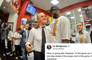 Pat Riley Takes Subtle Shot at LeBron James and Cavs