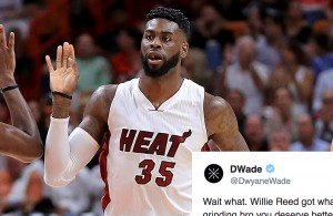 Willie Reed, Dwyane Wade Miami Heat