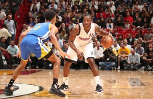 Dion Waiters Miami Heat Warriors