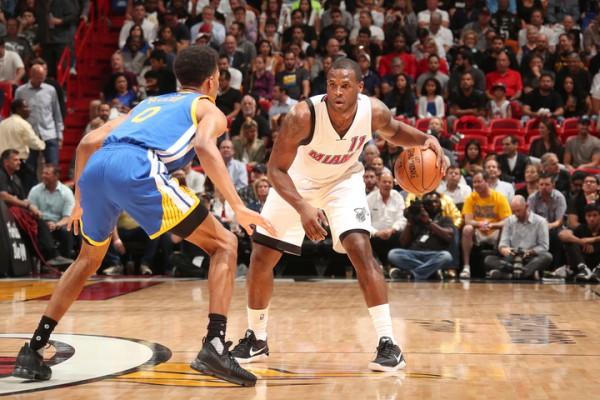 Dion Waiters Miami Heat Warriors