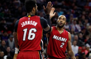 James Johnson and Wayne Ellington