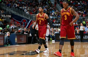 Kyrie Irving and Dion Waiters