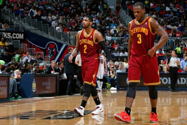 Kyrie Irving Straight-Up Didn't Speak to His Teammates During the Playoffs