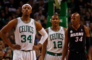 Paul Pierce and Ray Allen