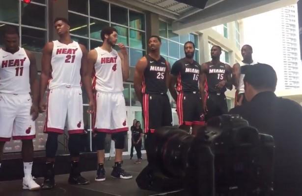 Miami Heat Sponsor Jerseys