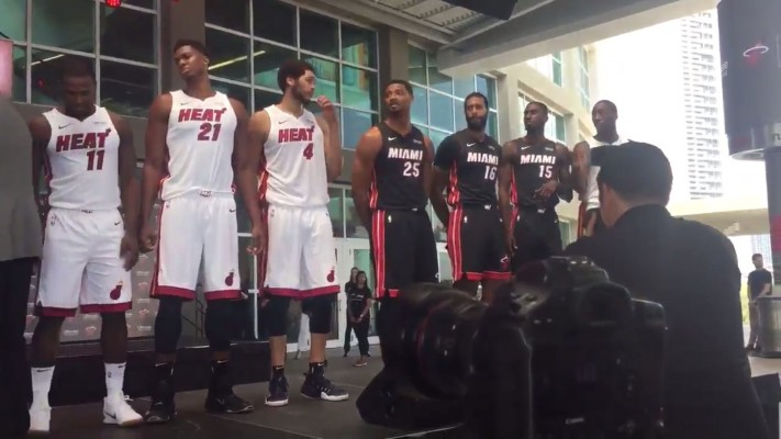 Miami Heat Sponsor Jerseys