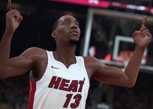Bam Adebayo NBA 2K18 Miami Heat