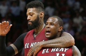 James Johnson and Dion Waiters