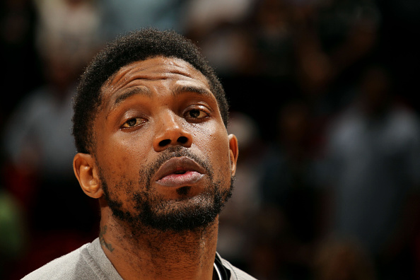 Udonis Haslem Angry Miami Heat