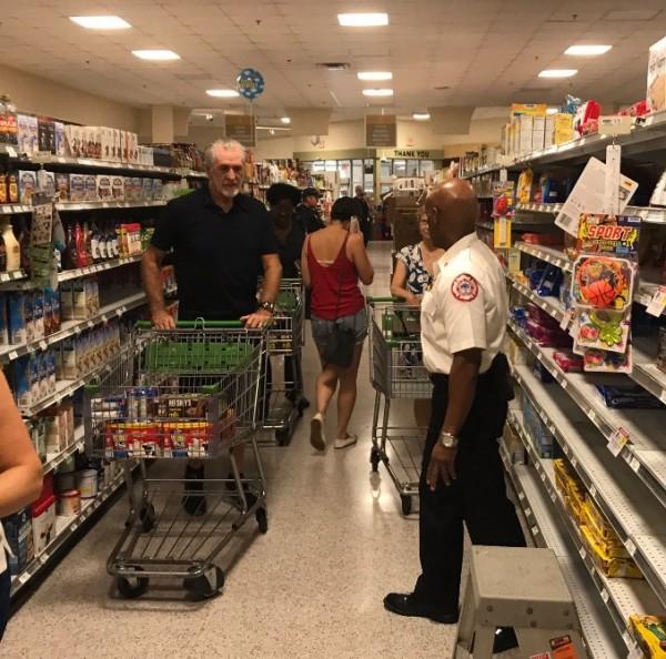 Pat Riley Miami Heat Shopping