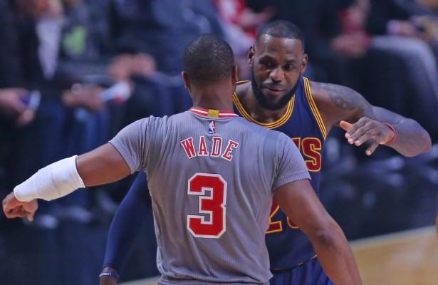 Dwyane Wade and LeBron James Cavs, Bulls