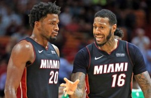 Justise Winslow and James Johnson