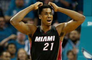 Hassan Whiteside Angry