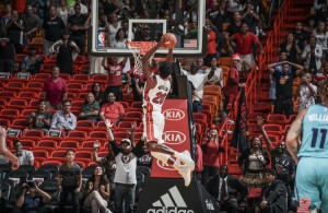 Justise Winslow Miami Heat Dunk