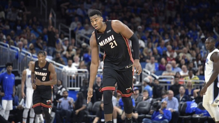 Heat's Whiteside to Miss Home Opener