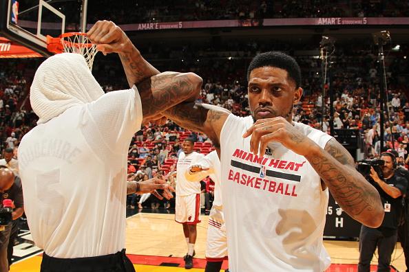 Udonis Haslem Miami Heat
