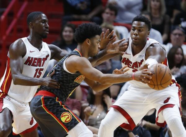 Okaro White, Hassan Whiteside Miami Heat